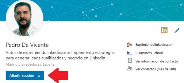 Perfil Linkedin Aptitudes