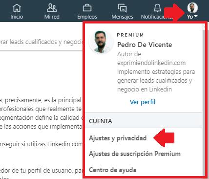 Cómo configurar Linkedin cuando estás buscando empleo 2