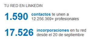 Prospección de clientes en Linkedin 2