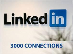 Las invitaciones en linkedin tienen un limite de 3000