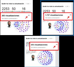 Difusión de contenidos en Linkedin 3