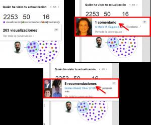 Difusión de contenidos en Linkedin 4