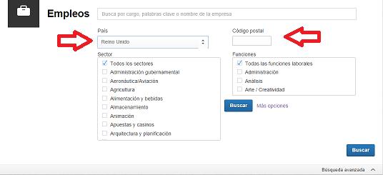 Cómo buscar empleo en Linkedin en otros países y ciudades 3