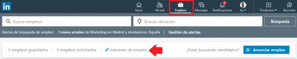 Linkedin indica a reclutadores que estás abierto a oportunidades profesionales 2