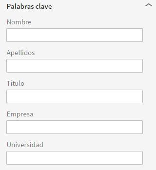 Palabraclave nuevo perfil Linkedin