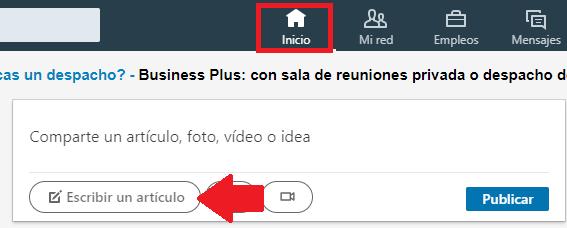 Cómo acceder a Linkedin Pulse
