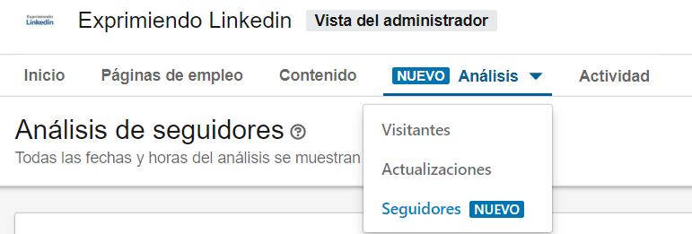 Linkedin empresas - crear perfil de empresa