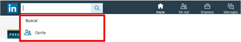 Linkedin gestión contactos -el buscador avanzado