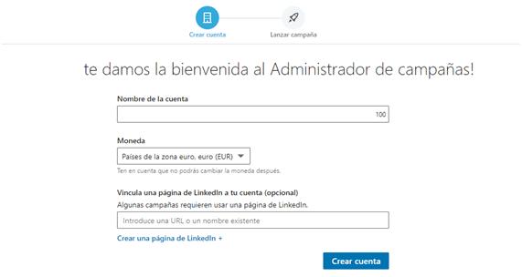 Linkedin ads - administrador de campañas