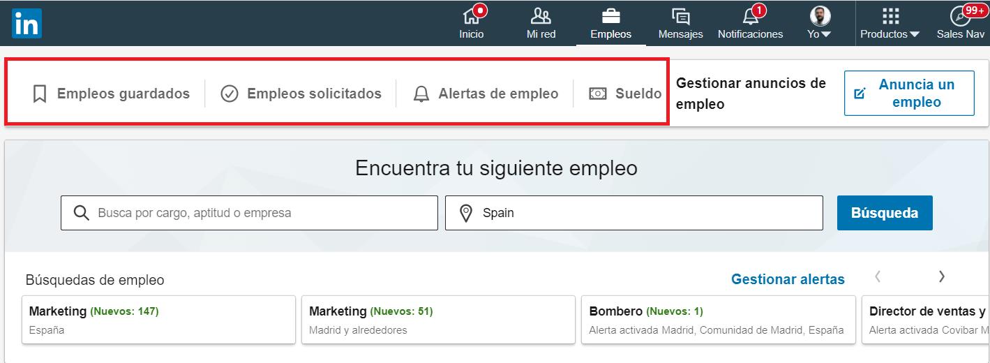 Linkedin empleos Portal de empleo