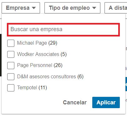 Linkedin empleos Empresa 2