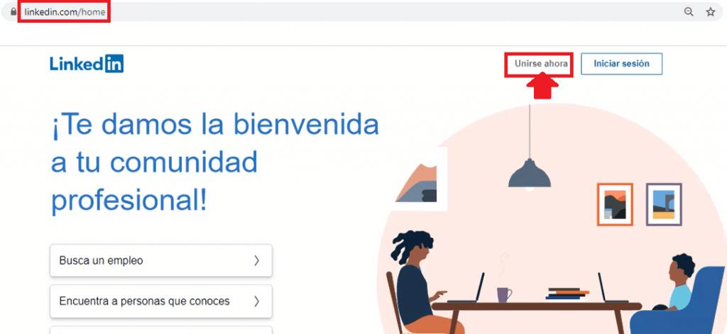 Crear cuenta en Linkedin - Unirse ahora