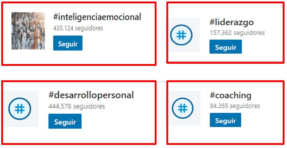 hashtags en linkedin para empresas