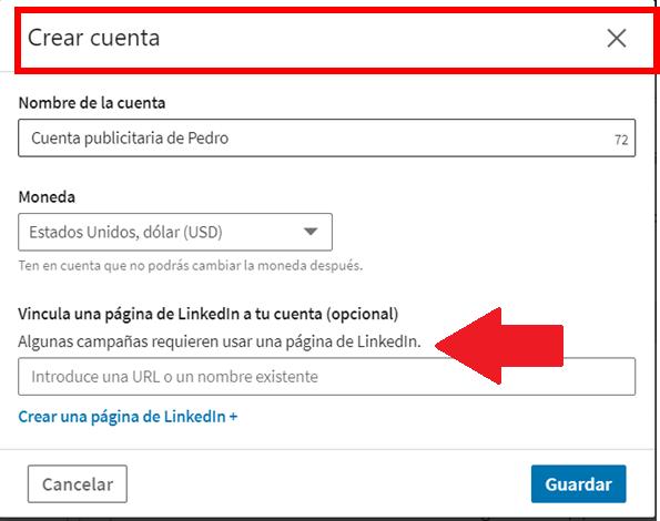 crear Linkedin ads