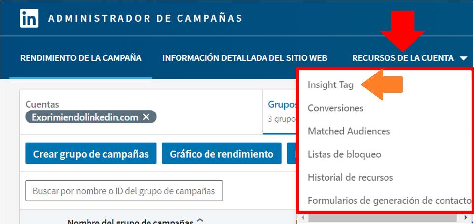 Linkedin Insight Tag - cómo instalar Linkedin Insight Tag