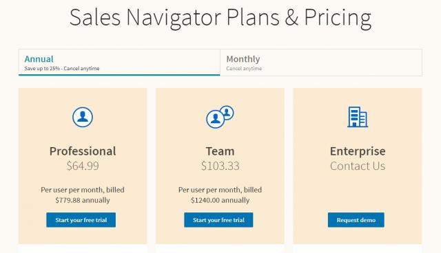 qué es Linkedin sales navigator