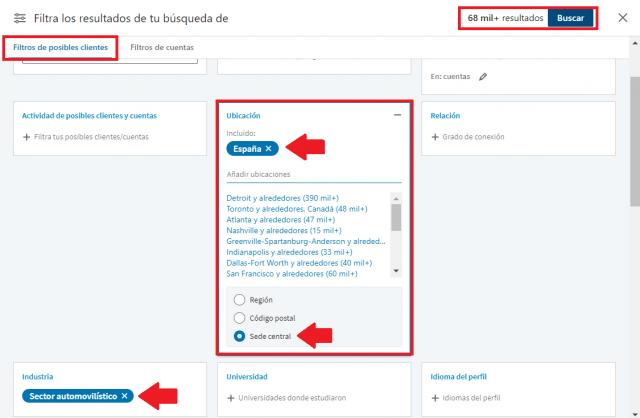 Linkedin sales navigator - buscador avanzado profesionales 2