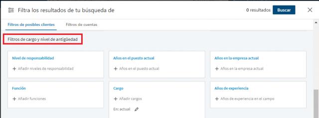 Linkedin sales navigator - buscador avanzado profesionales 3