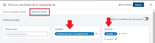 Linkedin sales navigator - buscador empresas