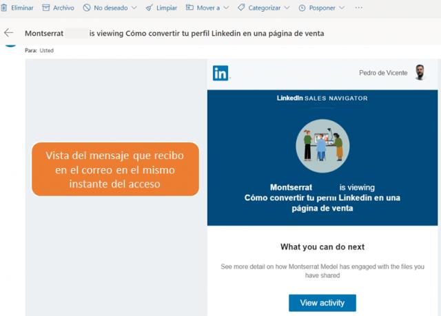Linkedin sales navigator - los smart links 10