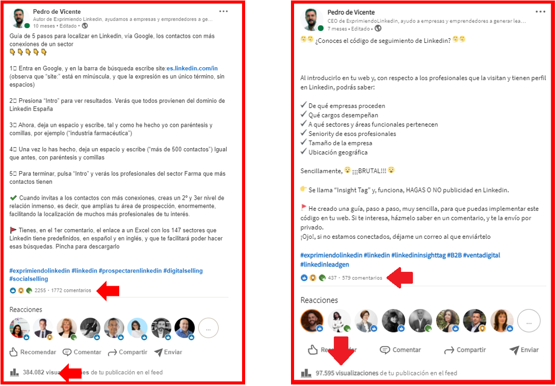 boost en Linkedin cómo aumentar el alcance de tus publicaciones 3