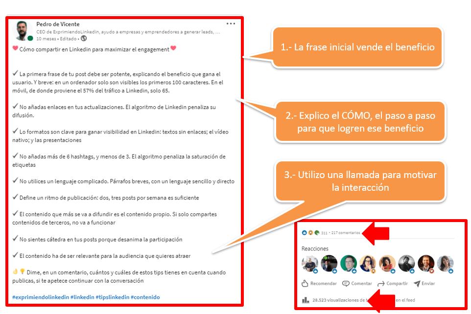 boost en Linkedin cómo aumentar el alcance de tus publicaciones 4