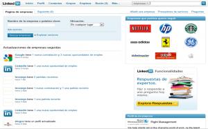 Buscador Empresas Linkedin
